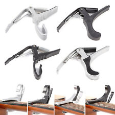 Black Silver Capo Acoustic Electric Guitar Quick Change Trigger Capo Clamp