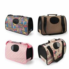 Pet Dog Cat Portable Travel Puppy Carrier Crates Box Holder Kennel Cage Bag Tote