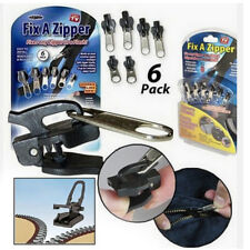 6Pc Fix A Zipper Zip As seen ON TV Slider Rescue Instant Repair Kit Replacement