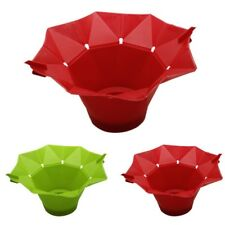Kitchen Microwave Popcorn Popper Collapsible Silicone Pop Corn Maker Bowl Holder