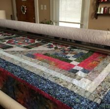 Quilting Service Longarm Quilting QUEEN size Quilt Machine Long arm quilted