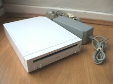 NINTENDO WII WHITE CONSOLE WITH POWER ADAPTOR TESTED & FULLY WORKING