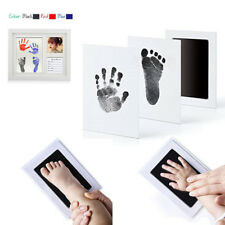 Baby Footprint Ink Pad Handprint Non-Toxic Clean-Touch Pearhead Inkless  Fancy