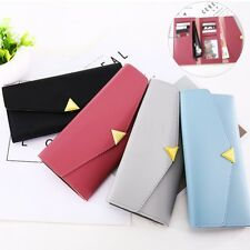 Fashion Women Leather Clutch Wallet Long Lady Card Holder Case Purse Bag Handbag