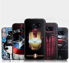 Marvel Superheroes Phone Case Cover for Samsung Galaxy S7, S7 Edge, S8, S8 Plus