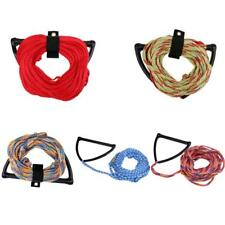 75' 2200lb 1 Section Water Ski Wakeboard Tow Rope with Handle for Jet Boat River