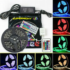 SUPERNIGHT® 5M 16.4ft 3528/5050 SMD RGB/RGBW Warm/Cool White 300 LED Strip Light