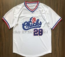 Bo Jackson #28 Memphis Chicks Baseball Jersey White Movie Jersey