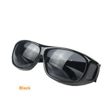 HD Vision Wrap Around Sunglasses Yellow Night Driving  Male UV400 Protective Eye