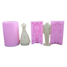 Suit Wedding Dress Silicone Soap Molds Chocolate Candy Mold Cake Baking Tools