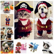 Pet Dog Halloween Costume Puppy Cat Pumpkin Cosplay Hoodie Party Clothes Outfit