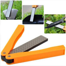 Folding Double Sided Diamond Knife Sharpener 400/600 Grit Fine Sharpening Stone