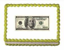Edible Money Edible Icing Image
