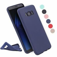 Shockproof Ultra Thin Matte Soft Rubber TPU Back Case Cover For Samsung Galaxy