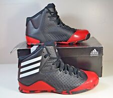 NIB ADIDAS NEXT LEVEL SPEED IV K BLACK/RED SNEAKERS BASKETBALL SHOES SIZE 5.5