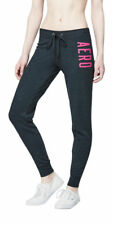 AEROPOSTALE WOMENS SWEATS JOGGER AERO NEW YORK SWEAT PANTS FLEECE SKINNY TIGHT