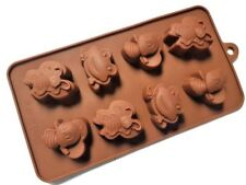 Free Shipping 5 Pack Unique Shapes Combo of Candy Chocolate Soap Silicone Molds