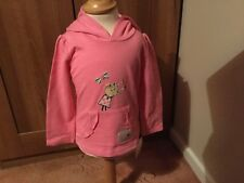 Charlie and Lola Pink Hoodie by Mothercare BNWT