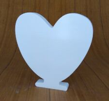 A-Z Free Standing 8cm Artificial Wooden Wood Letter Alphabet Word Wedding Par...