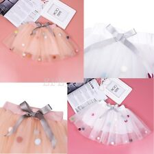 Toddler Baby Girls Tutu Ballet Bust Skirt Kid Short Mini Dress Dance Party Dress