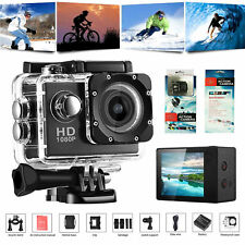 "HD 1080P Waterproof Sports Camera HD DV 2"" Screen Action Video Record Camcorder"