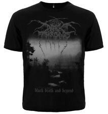 "T-shirt DARKTHRONE ""BLACK DEATH AND BEYOND"" Metal concert. New, different size."
