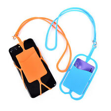 Universal Lanyard Cell Phone Neck Strap Case Cover Holder With ID Card Slot HOT