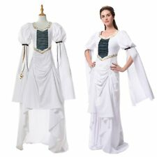 Vintage Women Queen Medieval Renaissance Dress Women Halloween Costume Gown Suit