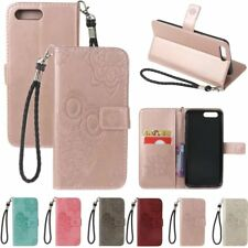 Cute Owl Pattern Leather Flip Card Wallet w/Strap Stand Case Cover For OnePlus 5