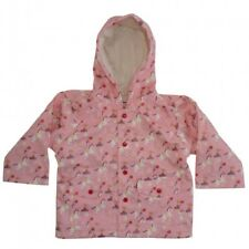 Powell Craft Pink Vintage Pony Hooded Lined Raincoat -Poppers/pockets/washable