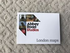 NEW The Beatles Abbey Road Studios Gift Shop Laminated London Maps