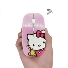 BEST OFFER Hello Kitty wireless optical computer mouse 2.4GHz 1600DPI