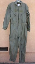 Flight Suit US Military Nomex Summer Flyers Coveralls CWU-27/P Sage Green