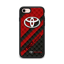 New Toyota TRD Sport Car Logo Print Hard Plastic Case For iPhone 5 6 6s 7 (Plus)