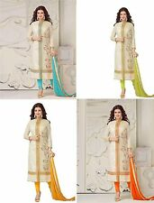 INDIAN ANARKALI PAKISTANI SALWAR PARTY KAMEEZ SUIT ETHNIC BOLLYWOOD PAKISTANi 14