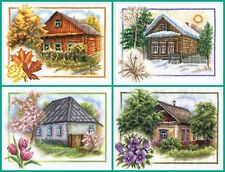 New Unopened Counted Cross Stitch Kit Panna Home Sweet Home