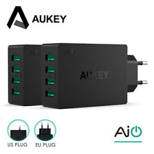 AUKEY Universal 4 Ports USB Charger Travel Wall Charger Adapter For Smart Phones