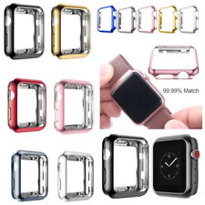 38/42mm Full Body Snap On Skin Case Protector Cover For Apple Watch Series 3/2/1