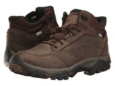 NEW Mens MERRELL Earth Brown MOAB ADVENTURE MID WATERPROOF Hiking Boots Shoes