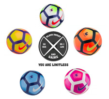 FOOTBALL NIKE PITCH PREMIER LEAGUE 5 2017 SIZE BALL EPL PROFESSIONAL PUMP SOCCER