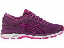 Asics Gel-Kayano 24 Purple Pink White Women Running Shoes B Width T799N-3320