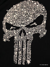 Punisher Skull of Bones T Shirt Seals DEVGRU Morale Patch  sniper  Marvel Comic