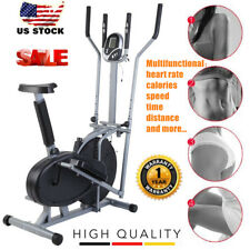 Elliptical Bike 2 In 1 Cross Trainer Exercise Fitness Machine 2017 Upgraded EK1