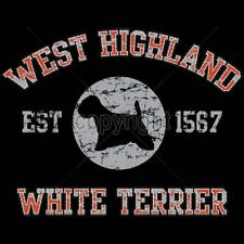 West Highland White Terrier Dog Puff Art Womens Long Sleeve T Shirt 17439