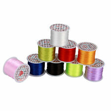 50m/Roll Strong Elastic Stretchy Beading Thread Cords For DIY Jewelry Making
