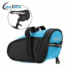 Outdoor Cycling Mountain Bike Bags Bicycle Saddle Bag Back Seat Tail Pouch Packa