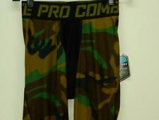 NWT$60 Mens Nike Pro Combat Dri-Fit Hypercool Woodland Compression Tights 658573