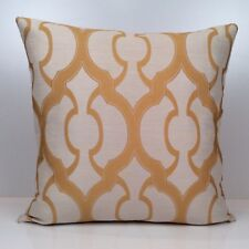 Yellow and Beige Throw Pillow Cover, Decorative Pillow Cover, Cushion Cover