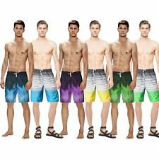 Mens Swimming Board Shorts Swim Shorts Trunks Swimwear Beach Summer Holiday Boys