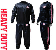 FS Heavy Duty  Sweat Sauna Suit Gym Training Track Suit Unisex Slimming Weight P